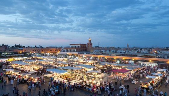 marrakesh Jamaa El Fna Square