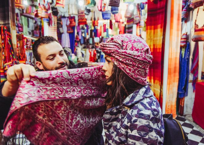 haggling in morocco