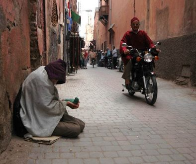 marrakech beggars in morocco